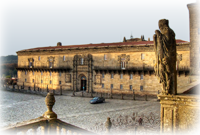 Hostal de los Reyes Católicos en Santiago de Compostela