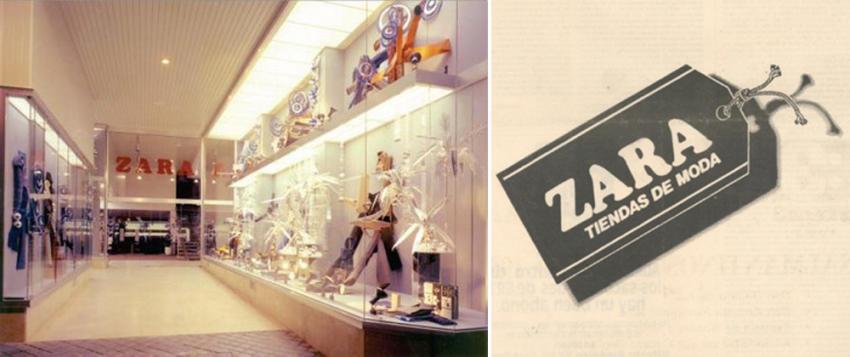 Primera tienda de moda zara