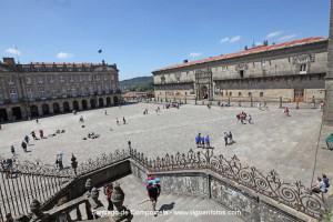 plaza obradeiro